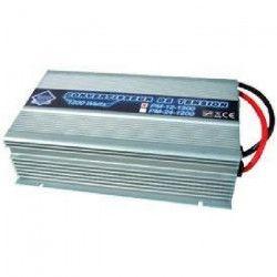 Convertisseur Transformateur de Tension 24/220V 1200W avec Télécommande