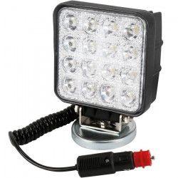 SPOTLIGHT Projecteur de travail - 3W × 9 LED magnétique 27 W