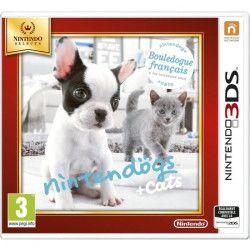 Nintendogs + Cats Bouledogue Jeux Selects 3DS