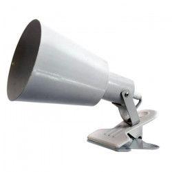 Lampe de bureau pince Phone avec cordon E27 60W blanc