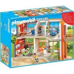PLAYMOBIL 6657 - City Life - Hôpital Pédiatrique Aménagé