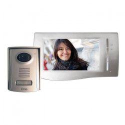 OTIO Interphone vidéo couleur ultra plat 2 fils 7``
