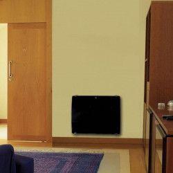 VOLTMAN Radiateur électrique verre galbé a inertie en céramique 1000W LCD programmable