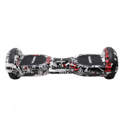 TAAGWAY Hoverboard électrique Grafitti 6,5` - 700W 4Ah - Rouge et blanc