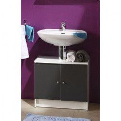 SLASH Meuble sous-lavabo L 59 cm - Gris anthracite
