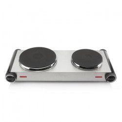 TRISTAR KP-6248 Plaque de cuisson posable en fonte - Inox