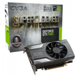 EVGA Carte graphique GeForce GTX 1060 SC 6Go GDDR5