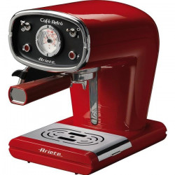 ARIETE 1388 Machine expresso classique Café Retro - Rouge
