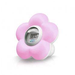 PHILIPS AVENT Thermometre Numérique SCH550/21 - Bain + Chambre - Rose