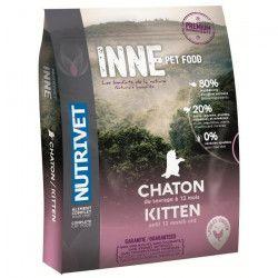 NUTRIVET Croquettes au poulet Inne - Pour chaton - 1,5 kg