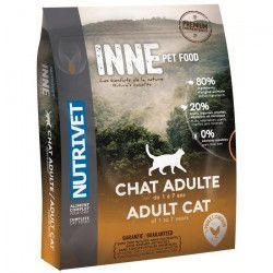 NUTRIVET Croquettes au poulet Inne - Pour chat adulte - 1,5 kg