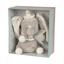 DISNEY Dumbo L`Éléphant Peluche Dumbo Assis 25 cm