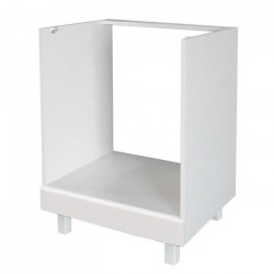 POP Caisson four bas 60 cm - Blanc Brillance