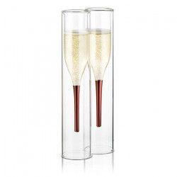 SOIREE Lot de 2 Flûtes a Champagne - Design