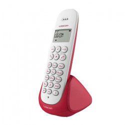 Logicom Aura 150 Solo Téléphone Sans Fil Sans Répondeur Framboise