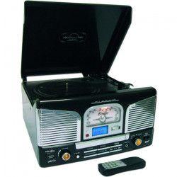 INOVALLEY RETRO-03 Platine Vinyle tourne disque USB noir