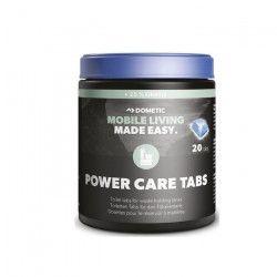 DOMETIC Tablettes nettoyantes toilettes PowerCare Blue - x 20