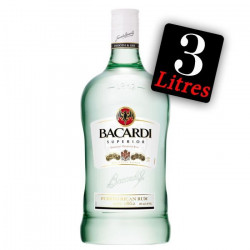 Bacardi Carta Blanca Rhum Blanc 300 cl - 37.5°