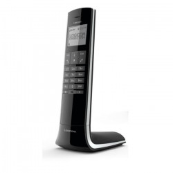 Logicom Luxia 150 Solo Téléphone Sans Fil Sans Répondeur Noir Gris