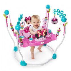 MINNIE Aire d`Éveil a Rebonds Rose - Disney Baby