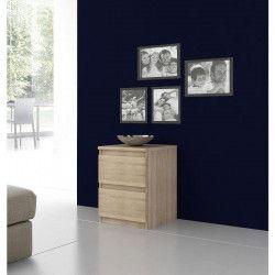 FINLANDEK Chevet NATTi contemporain décor chene sonoma - L 42 cm
