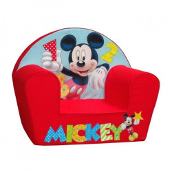 MICKEY Fauteuil Club Bébé Rouge -Disney Baby