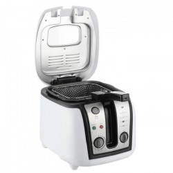 CONTINENTAL EDISON FR25T Friteuse électrique classique - Blanc