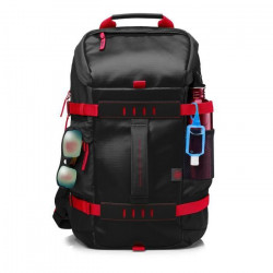 HP Sac a dos PC Portable Odyssey Sport Backpack X0R83AA - 15,6` - Rouge et noir