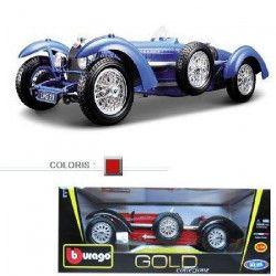 BBurago Voiture de collection en métal 1/18 Bugatti type 59
