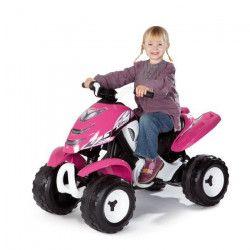 SMOBY Quad Electrique Enfant X Power Rose
