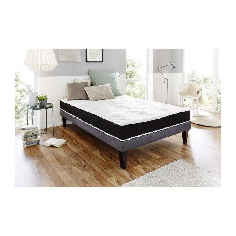 dormipurmemo matelas 160x200 mousse polyur thane et. Black Bedroom Furniture Sets. Home Design Ideas