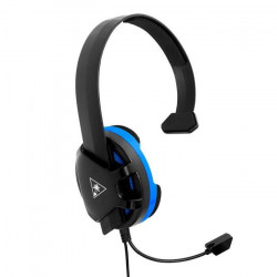 Turtle Beach - Casque Gamer - Recon Chat Noir (compatible PS4/Xbox/Switch/PC/Mobile) - TBS-3345-02