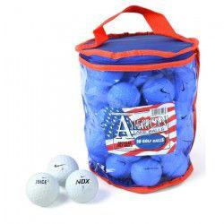 SECOND CHANCE Lot de 50 Balles de Golf Nike Mix - Blanc