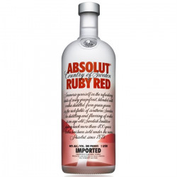 Absolut Ruby Red 1 litre
