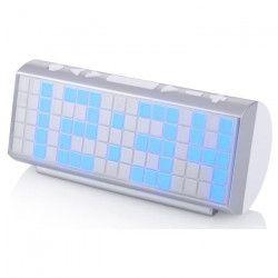 AUDIOSONIC CL-1476 Radio Réveil PLL - Affichage bleu