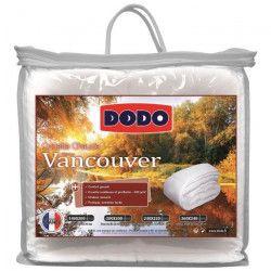 DODO Couette chaude 400gr/m² VANCOUVER 200x200 cm blanc