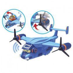 ROBOCAR POLI - Avion de Transport Pour Les Mini-Véhicules