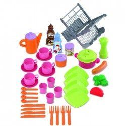 Ecoiffier 43 accessoires de cuisine