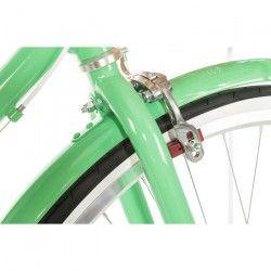 REID Vélo ville vintage classic Lite 7 vitesses - Femme - Vert menthe - Taille LARGE