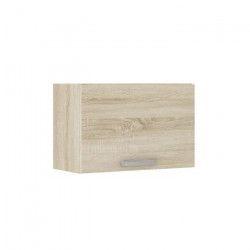 LASSEN Meuble hotte de cuisine L 60 cm - Décor chene clair Sonoma