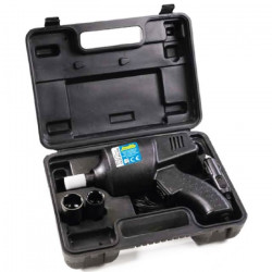 Coffret Clé a Chocs 12 V avec douilles réversibles 17,19,21 et 23 mm couple de 300 Nm Réf. 55205