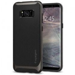 SPIGEN Coque Neo Hybrid pour Galaxy S8 - Gris métallisé