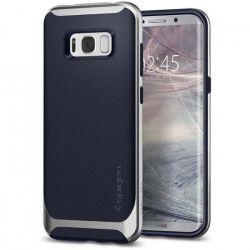 SPIGEN Coque Neo Hybrid pour Galaxy S8 Plus Satin - Argent