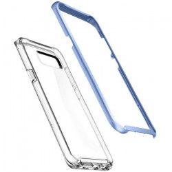 SPIGEN Coque Neo Hybrid Crystal pour Galaxy S8 Plus - - Bleu