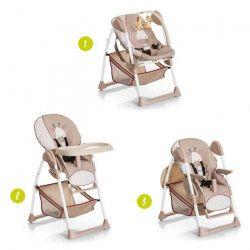 HAUCK Chaise Haute évolutive 2 en 1 Sit`N Relax - Giraffe