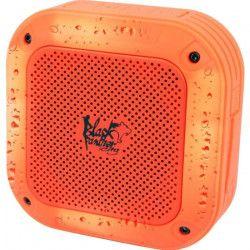 BLACK PANTHER CITY B-SPLASH Enceinte nomade Bluetooth sport waterproof Orange