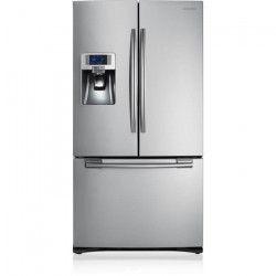 SAMSUNG RFG23RES-Réfrigérateur américain-520L (396 L + 124 L)-Froid ventilé-A+-L 90,8 cm x H 177,4 cm-Inox