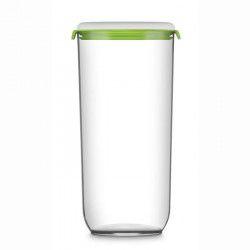 FOSA Récipient de mise sous vide alimentaire 12850 - 2850 ml - Blanc et vert