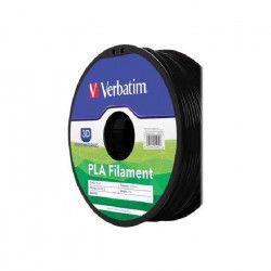 VERBATIM Cartouche de filament PLA - 1,75 mm - Argent / Gris métal- 1 Kg