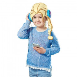 LA REINE DES NEIGES Bonnet avec Ecouteurs Intégrés - Disney